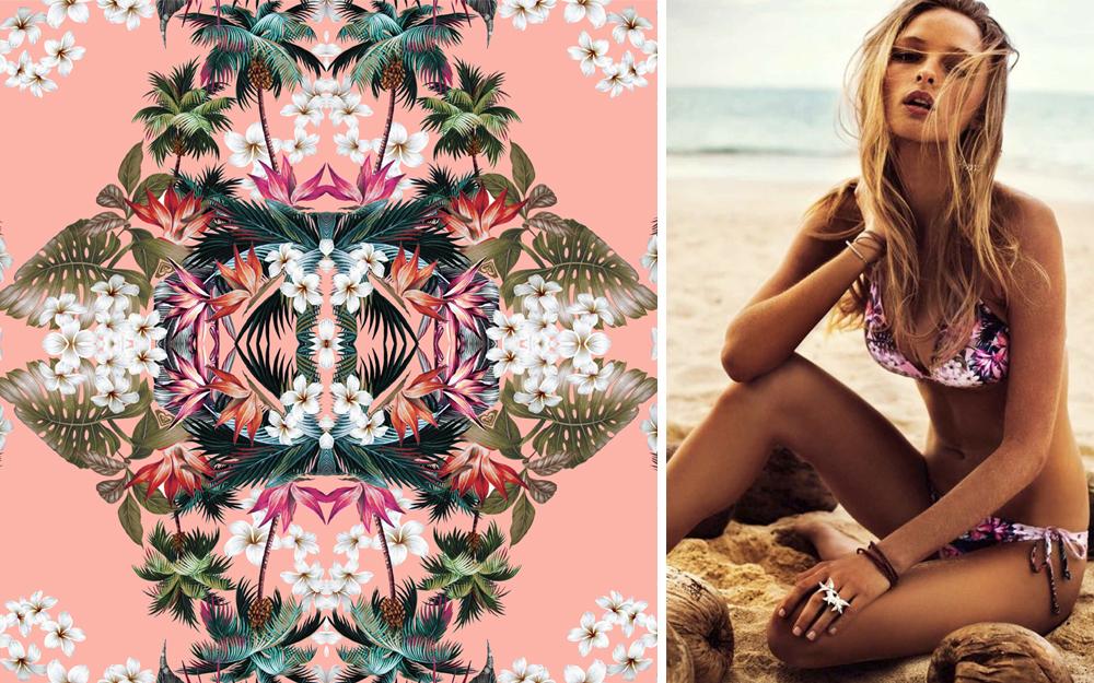 waimea / mirrored tropical