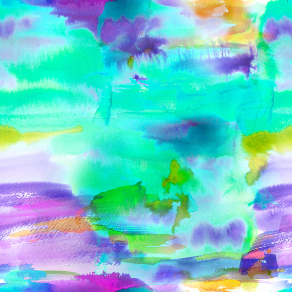 collected thoughts with watercolours