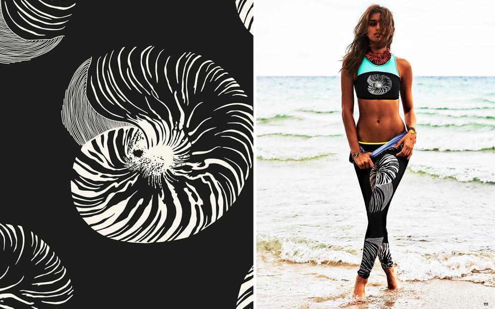 pop surf / roxy    photo / kane skennar / cosmopolitan