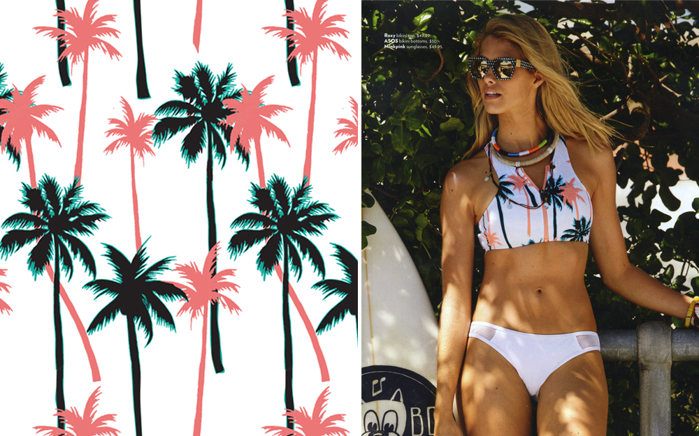 tropical palms    hoto /  kane skennar  / cosmopolitan