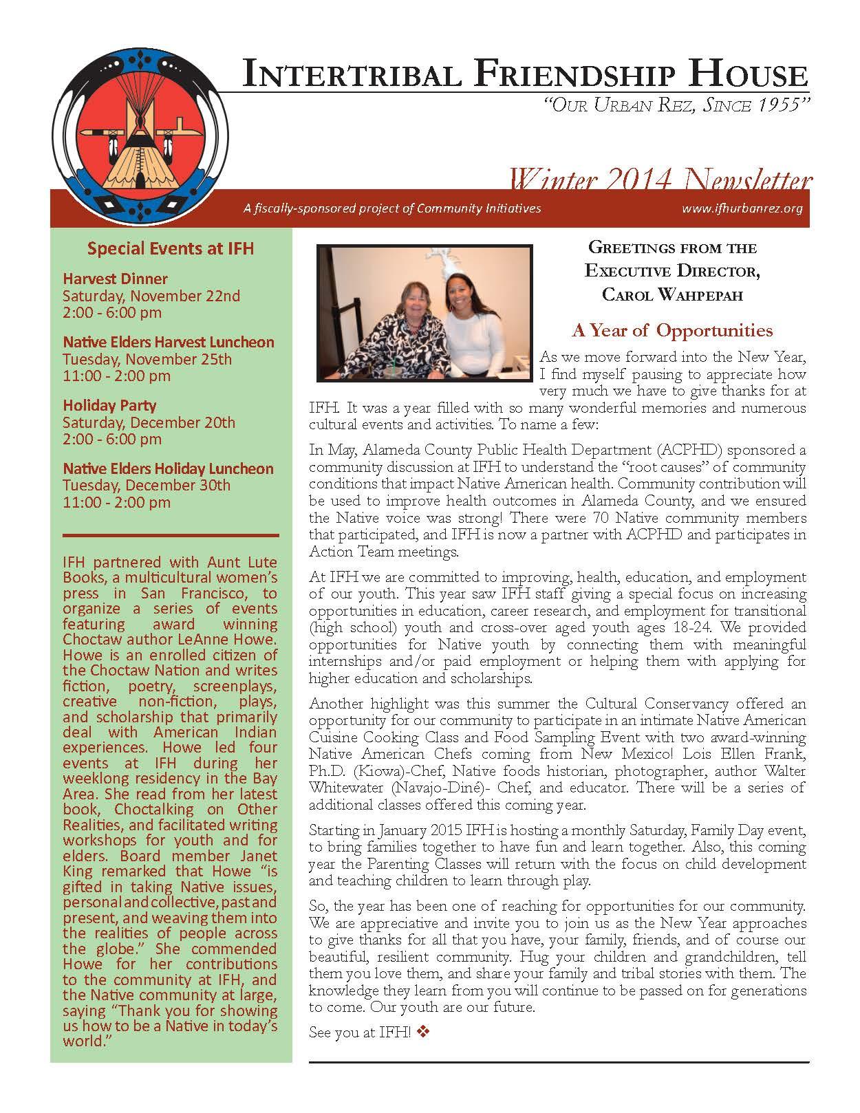 IFH Winter Newsletter pg1.jpg