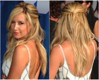 No. 1: Pinned-Back Hairstyles