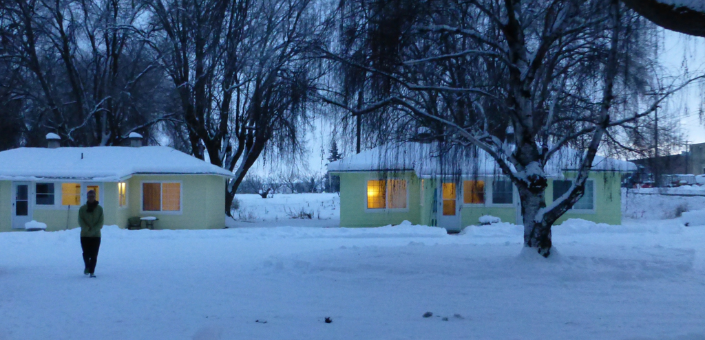 It's winter in Tieton!