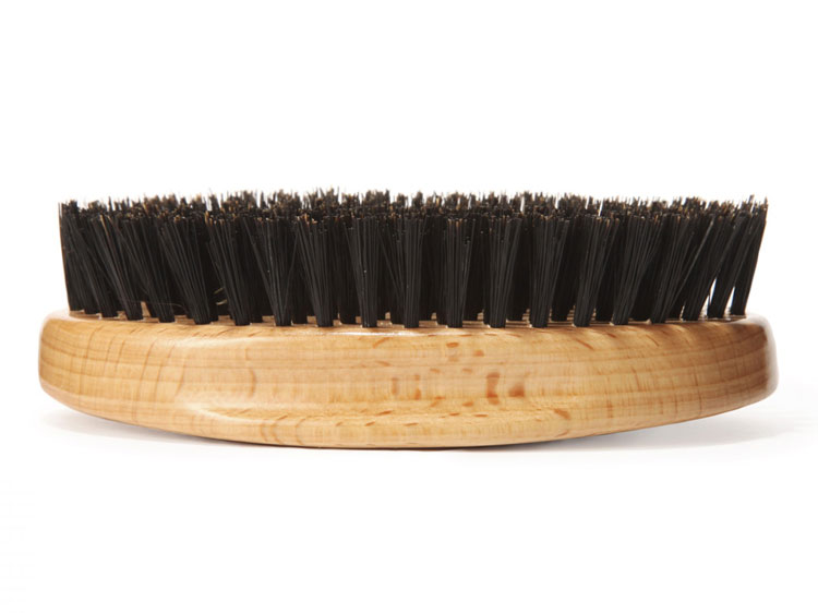 The humble hair brush: it also spanks and abrades!