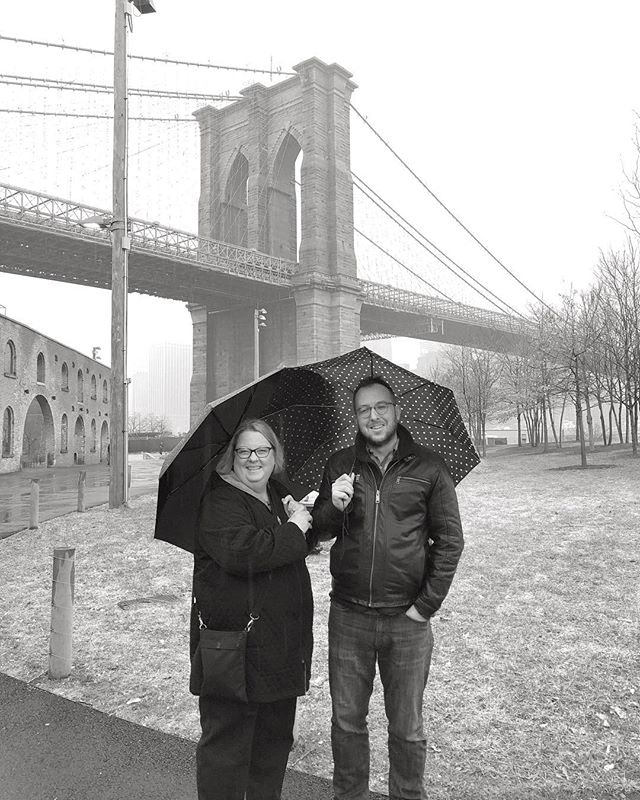 Mom in the big city . . . . #dumbo #rainydaydontcare #umbrellachoreo #momismyhero #wetsockbrigade