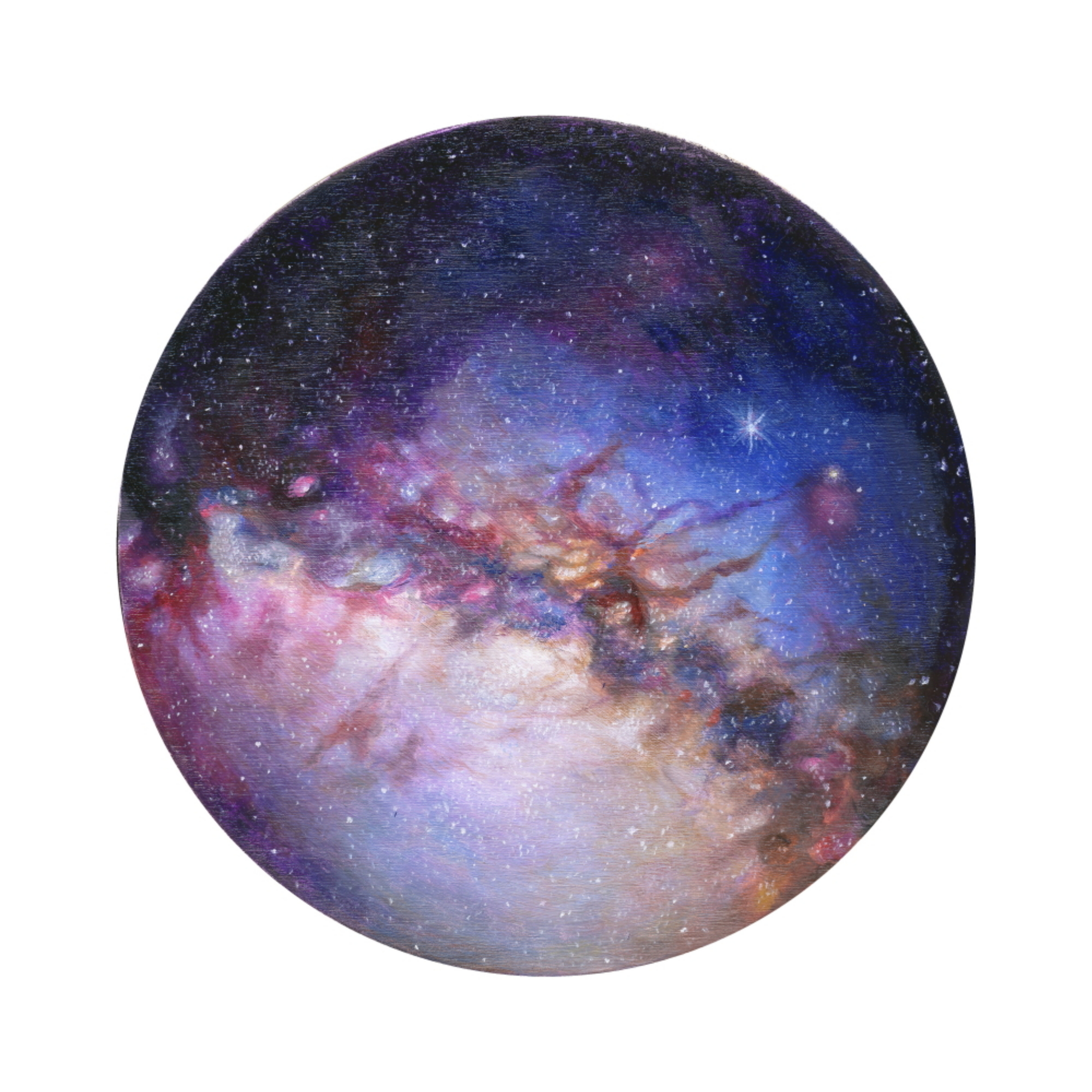 Milky Way (ITEM NO: 003)  Print Size:8x8 inches  $12.50 Wholesale at 50% off  $25 RRP