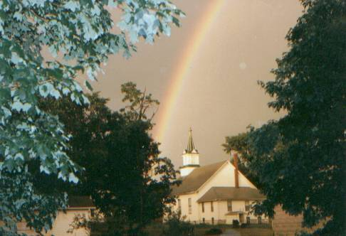June 27, 1994 : the old church after a rainstorm