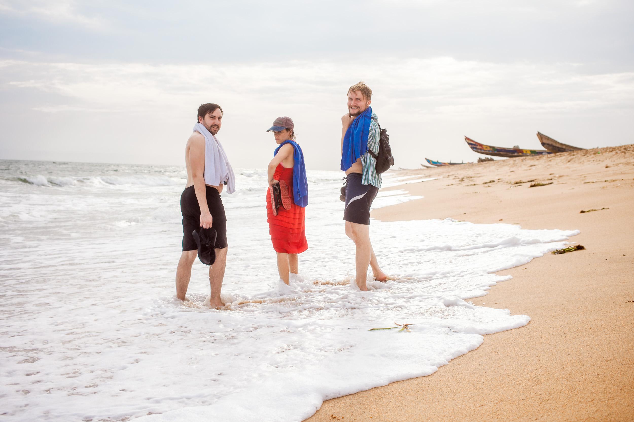 Friends-At-Beach
