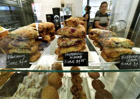 Restaurant review: Flour Craft in the MV Lumber Yard - July 2018 - Marin Independent JournalFlour Craft Bakery and Café is well-known to the gluten intolerant, food curator and anyone seeking the allure of a bakery case stacked with finely crafted, palate pleasing sweets and savories. Read the full review here.
