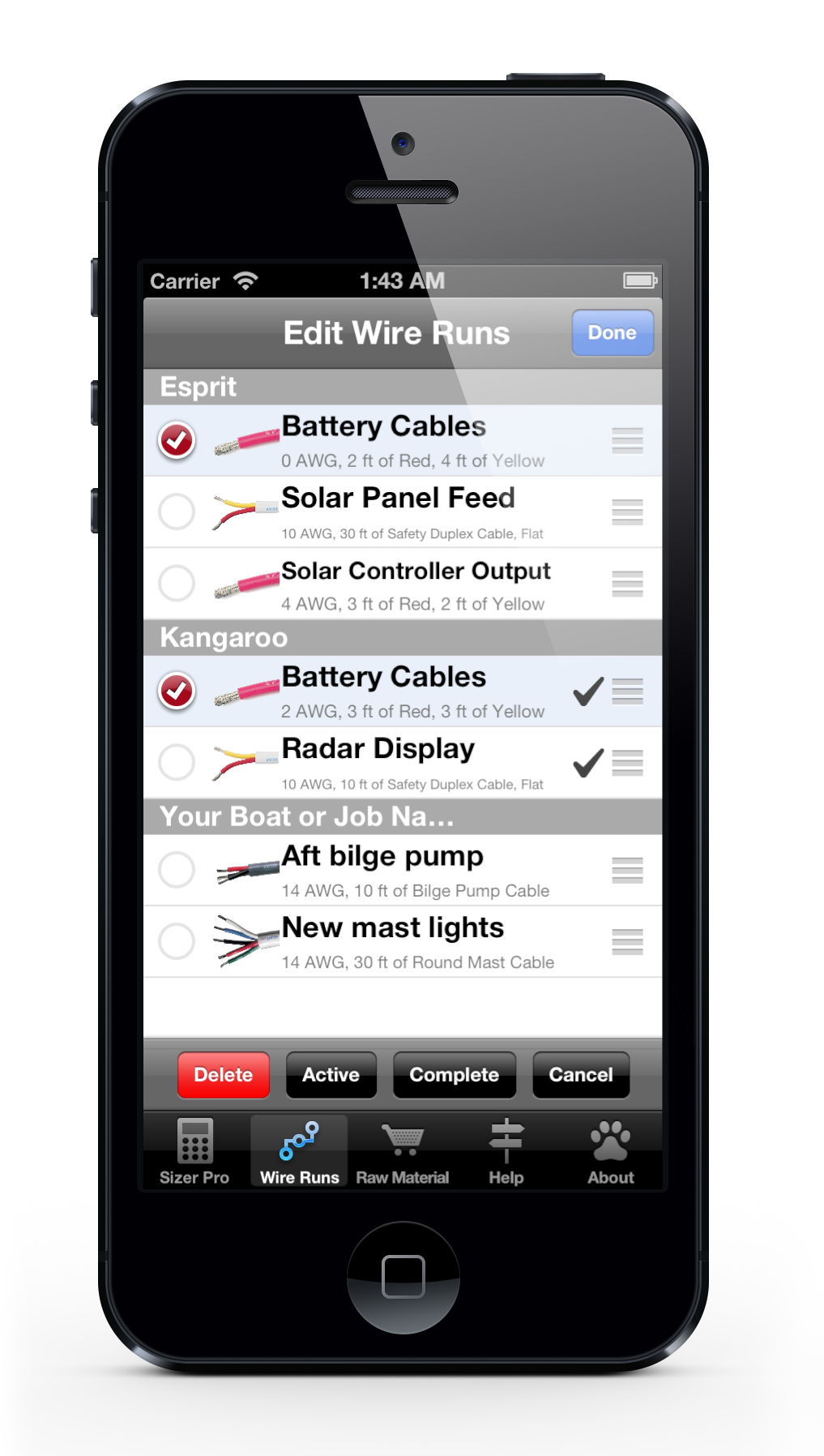 DCWS iP5 - Wire Run List in Edit Mode.png