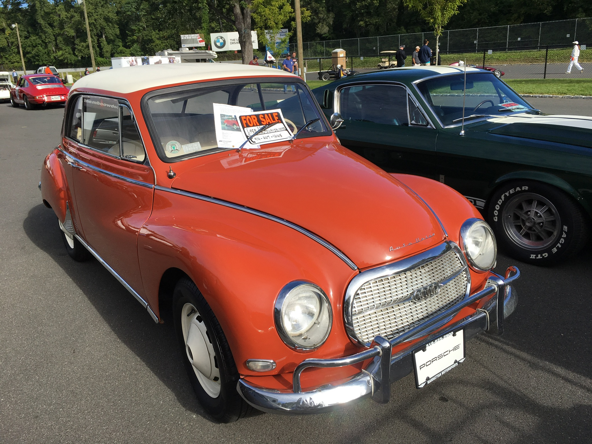 An Auto Union 1000 for sale