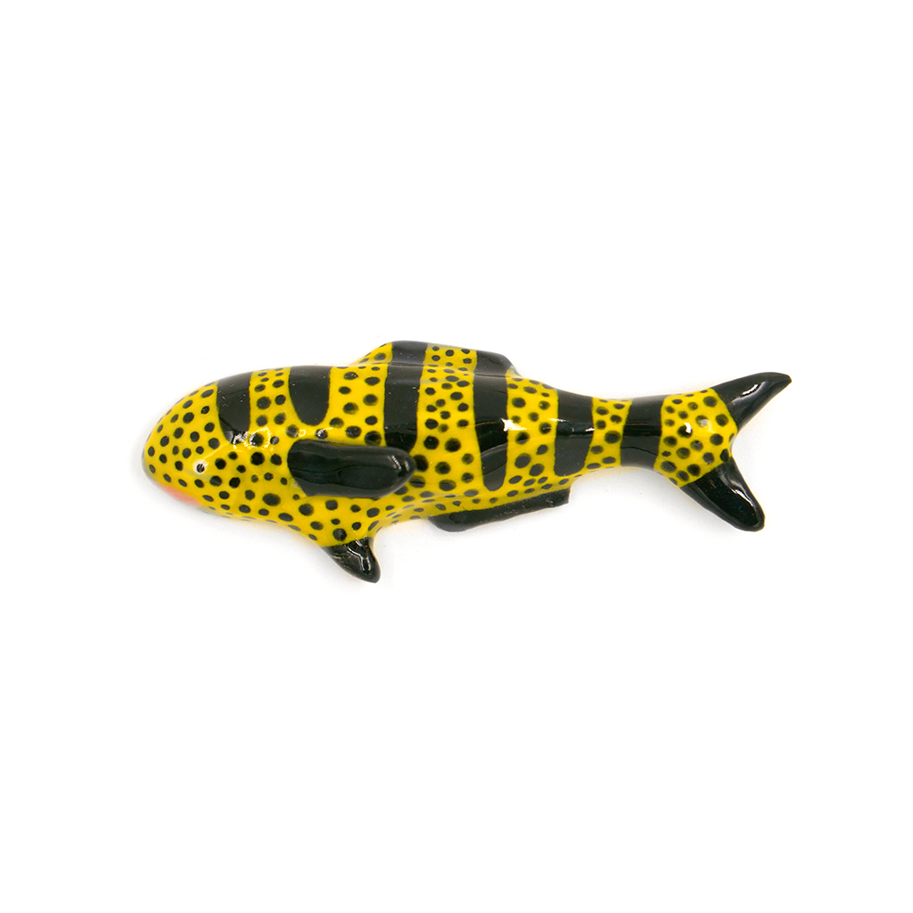 Tiny Yellow and Black Striped Fish.jpg