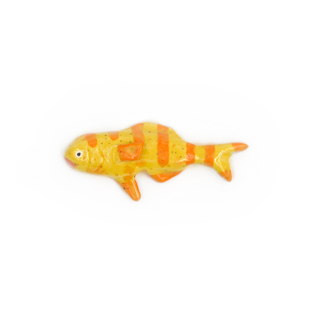 Tiny Yellow and Orange Striped Fish.jpg