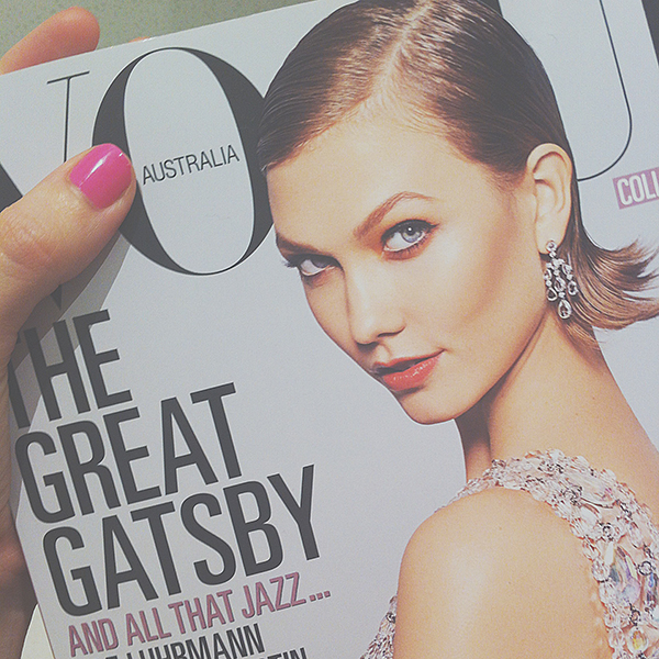 May issue of Vogue.. Karlie Kloss' new chop is divine!