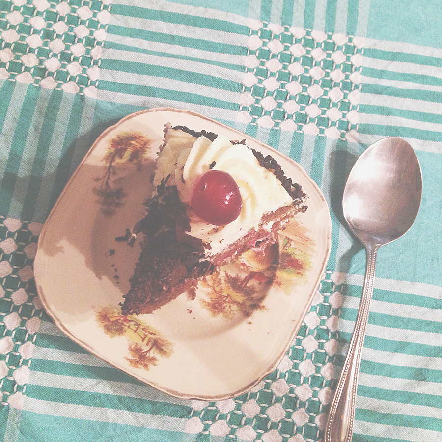 My delicious birthday cake..