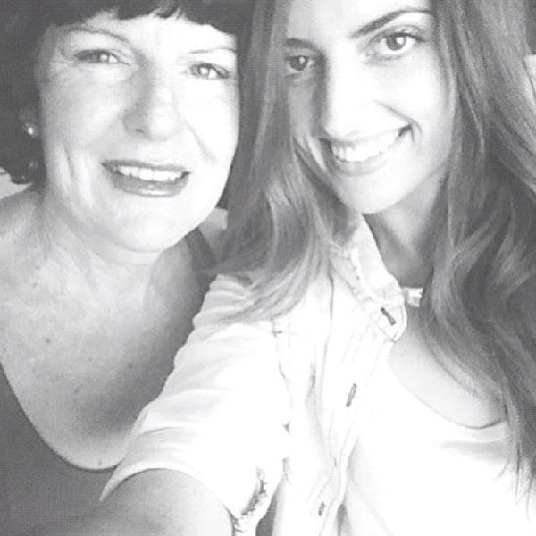 My Mum & best friend.