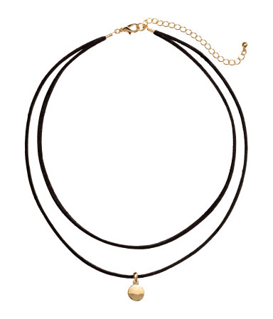 H&M -  TWO STRAND NECKLACE  - $9.99