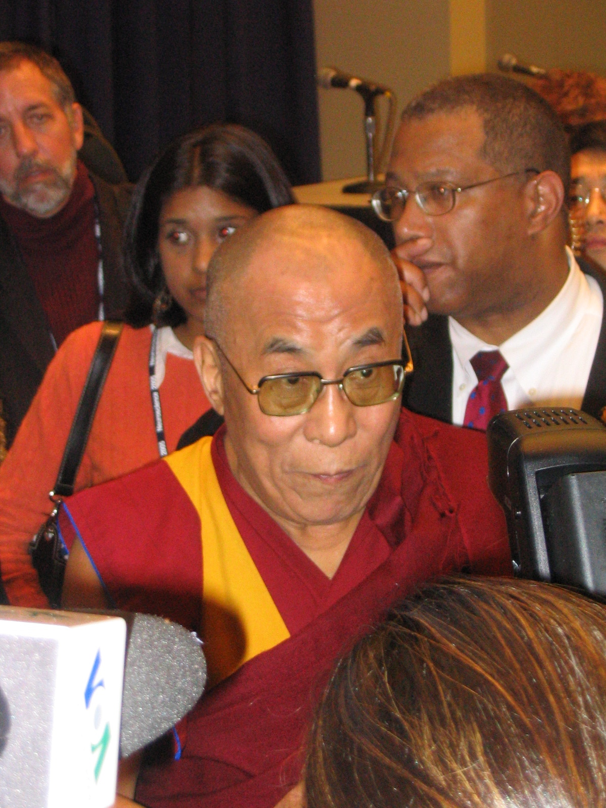 Dalai Lama, as close as it gets