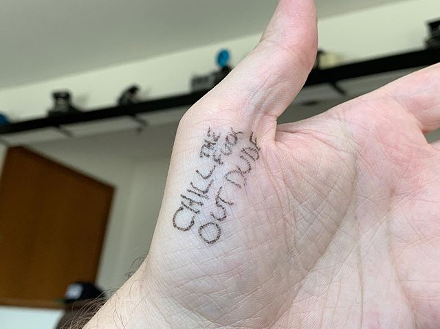 A little reminder from my new buddy @chongthenomad