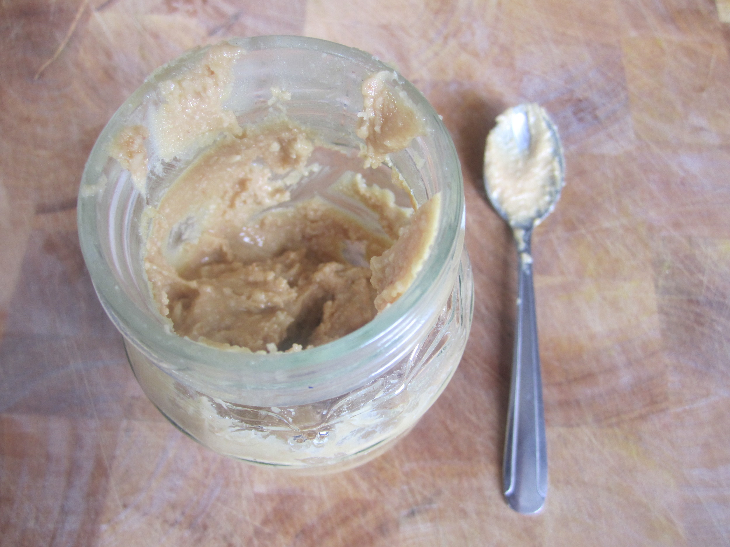 Nut butter - easy to make and so much nicer.