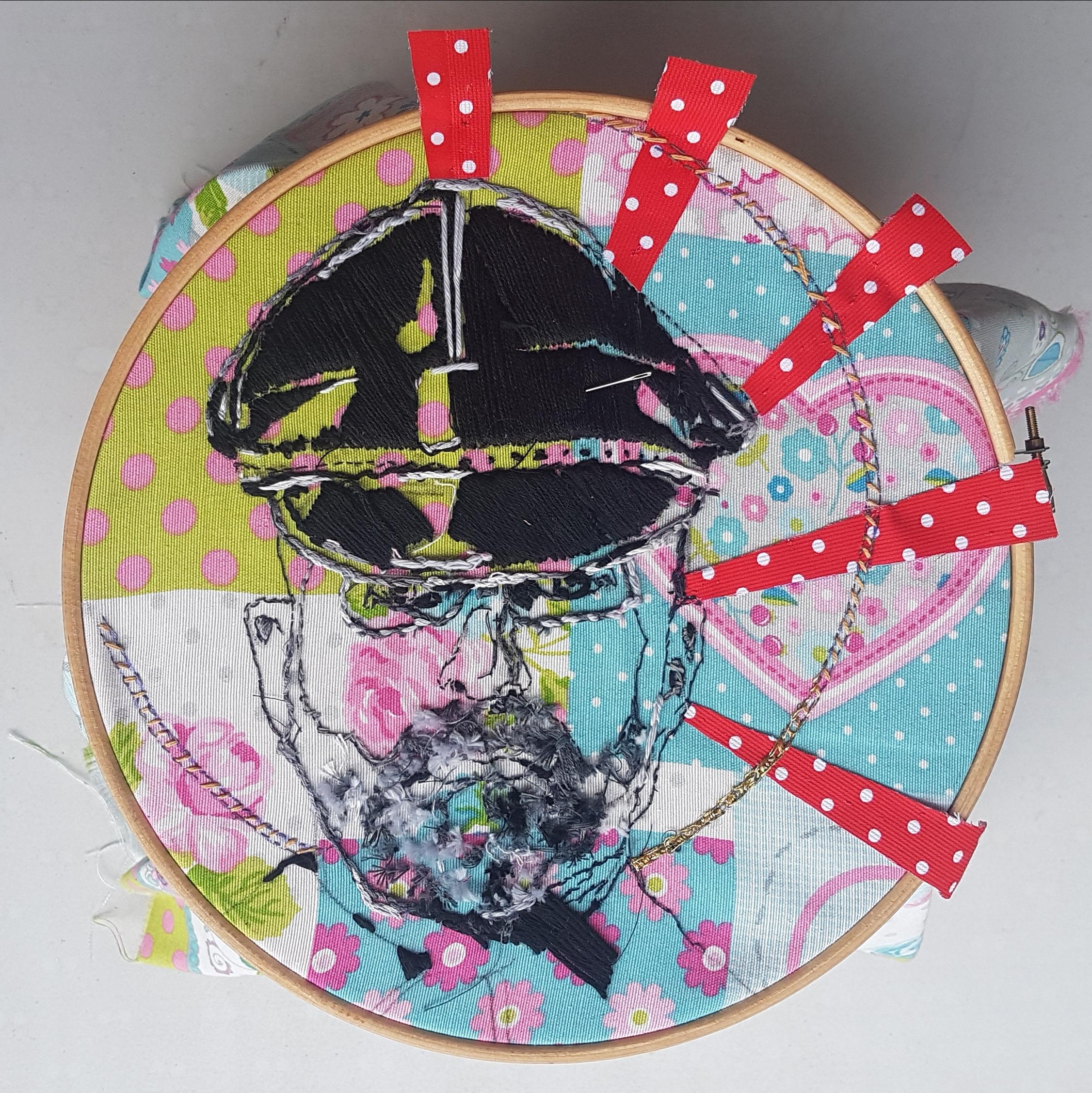 Bordado / Embroider  25 cm