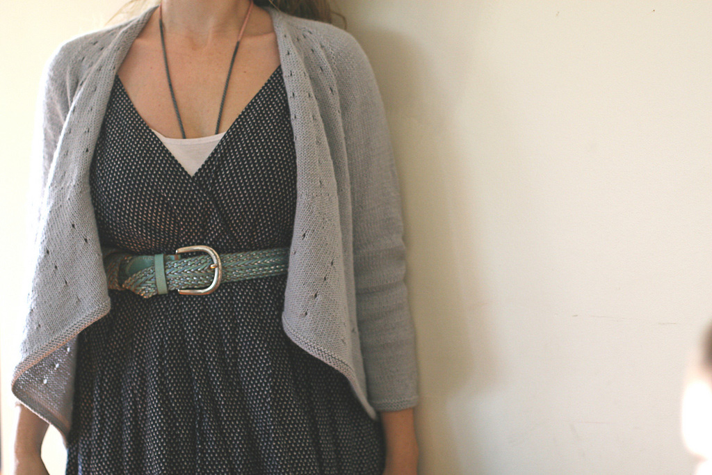 I don't wear flappy side bits! The lovely Vitamin D by Heidi Kirrmaier.