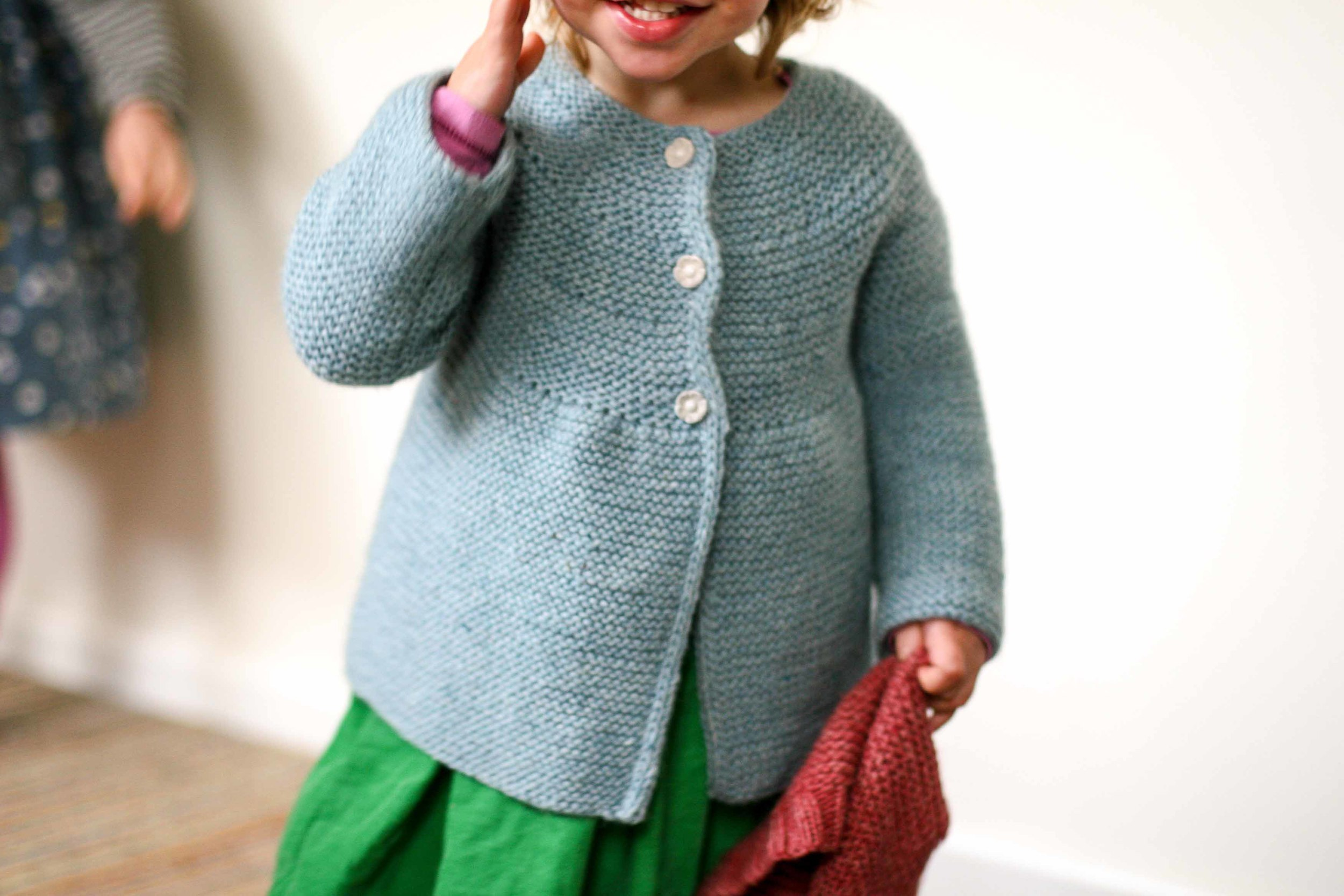 Happiness in handknits