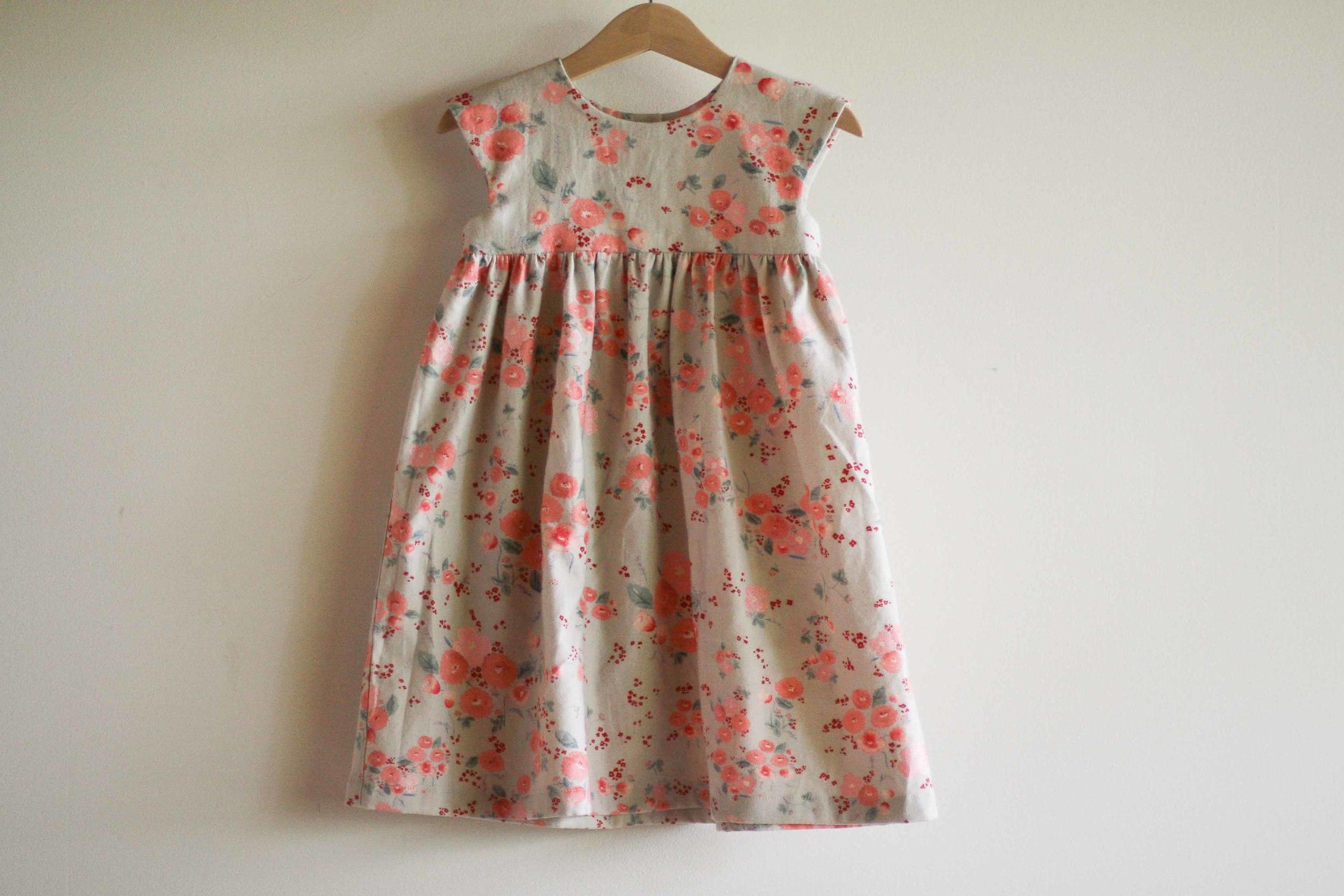 """You make me pink flowery dress mama?"""