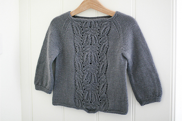 A favourite knit - Immie Tee by Carrie from Madder Made.