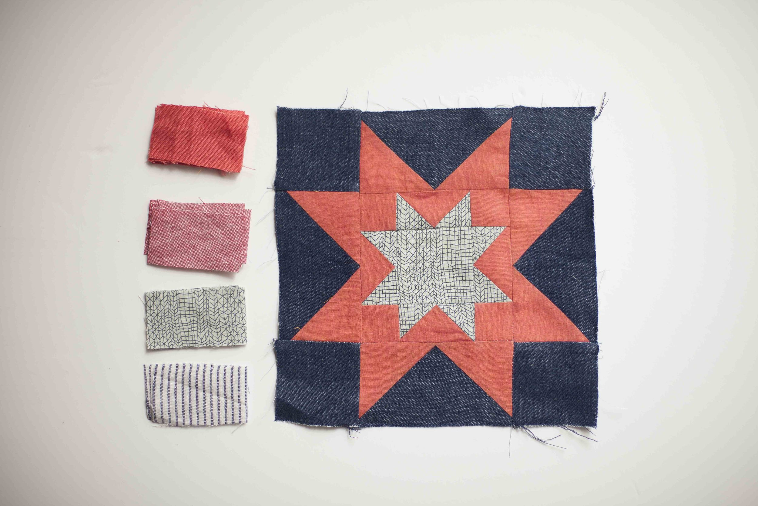 Freedom patchwork - I'm so loving the name Melissa gave this class.