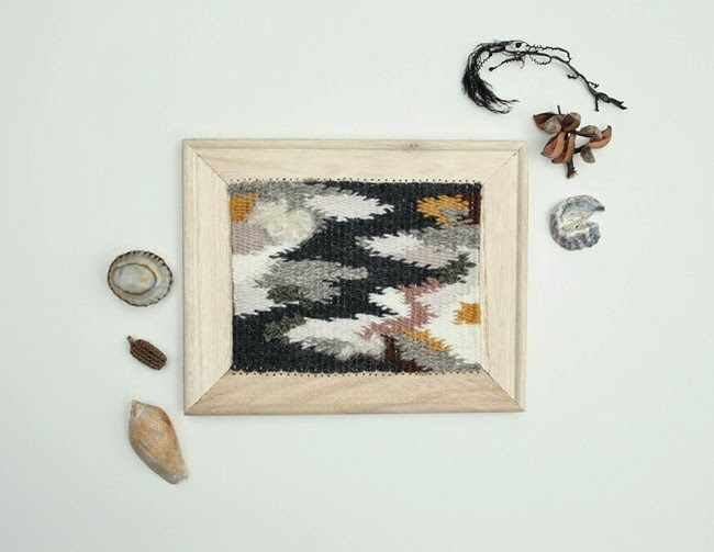 Weaving by Belinda Evans, one of our super talented teachers. I adore this one.