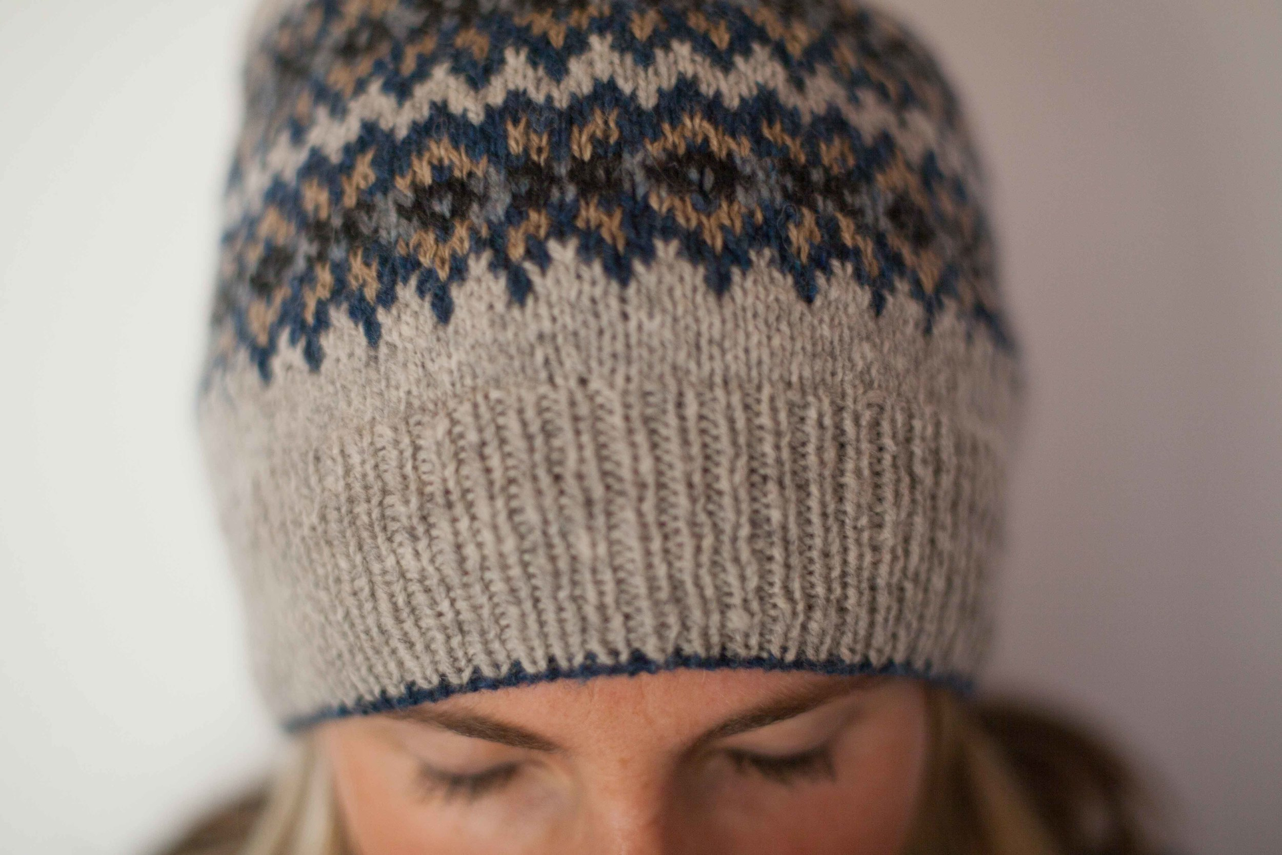 The Seasons Hat by Brooklyn Tweed - an incredibly well written pattern.