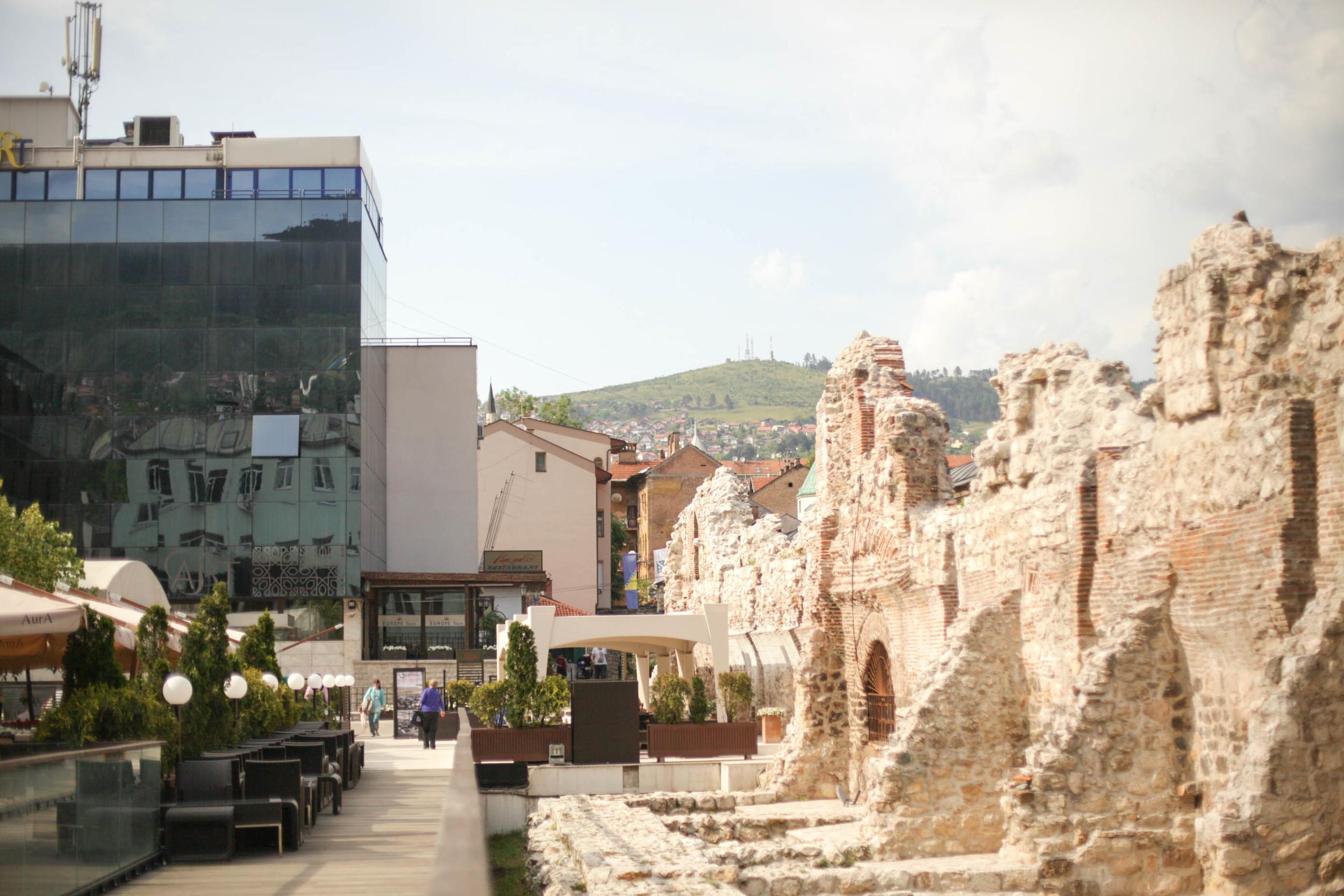 Sarajevo - old meeting new.