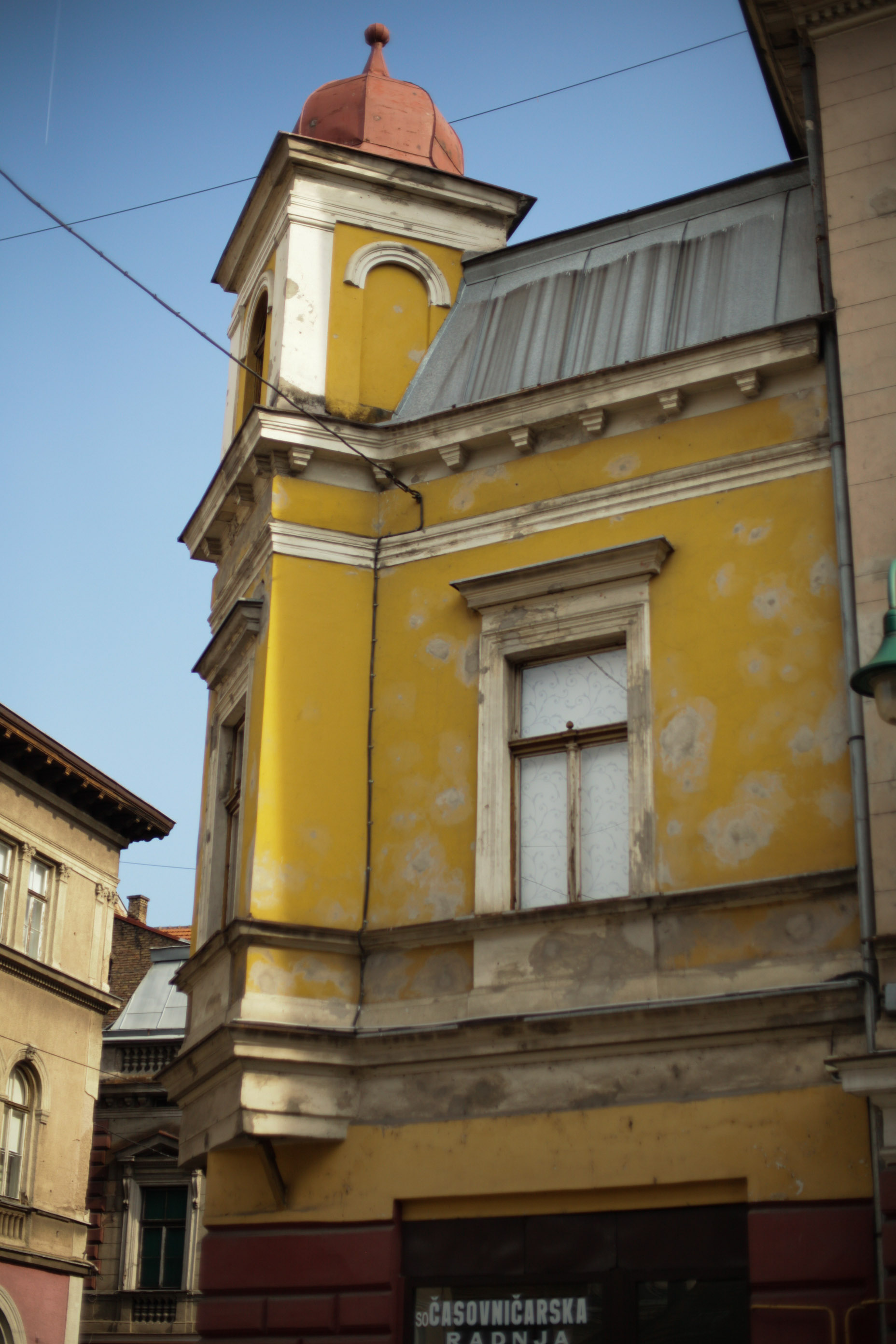 Sarajevo is being rebuilt but the signs of the siege are still incredibly prevalent.