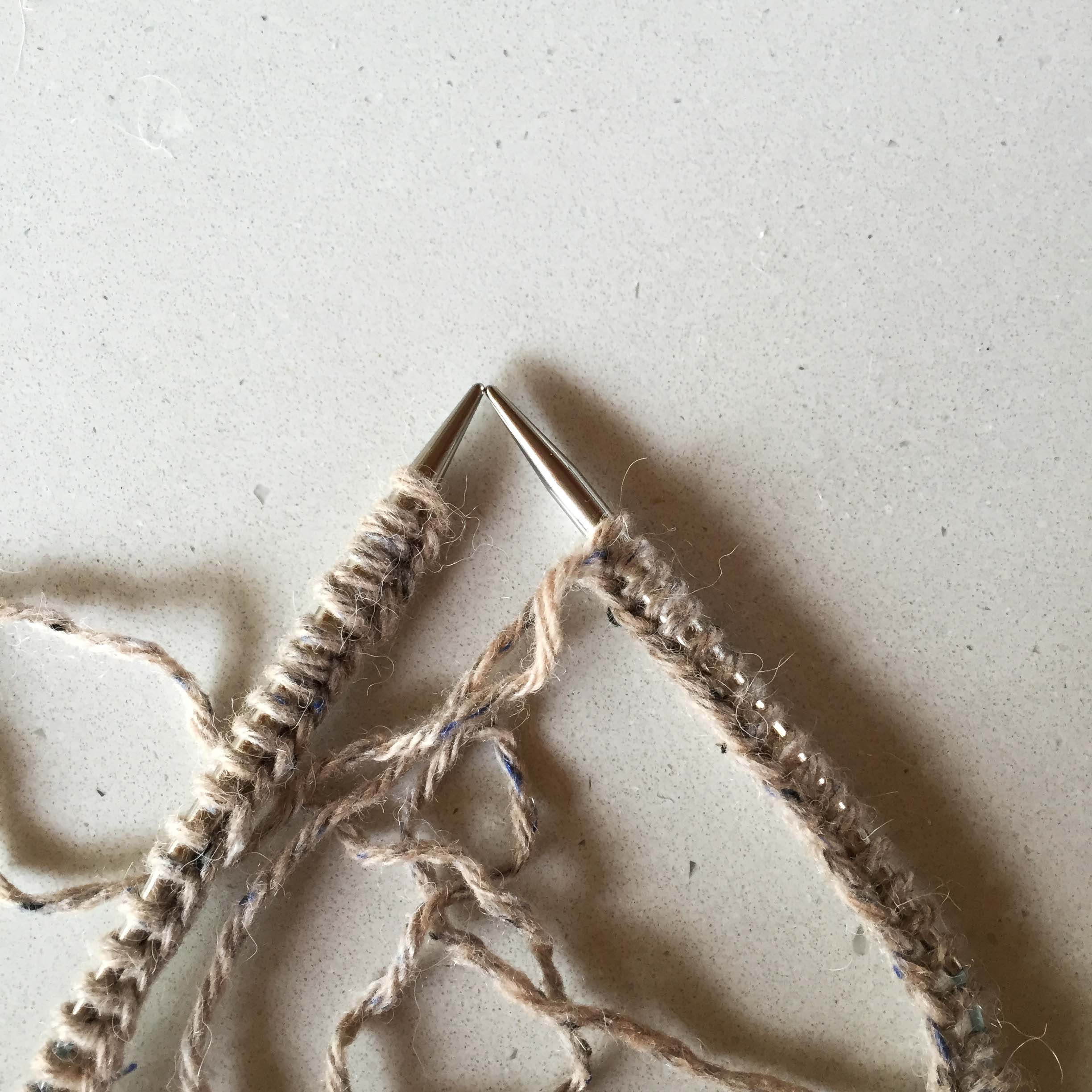 Cast on your stitches plus one extra stitch.