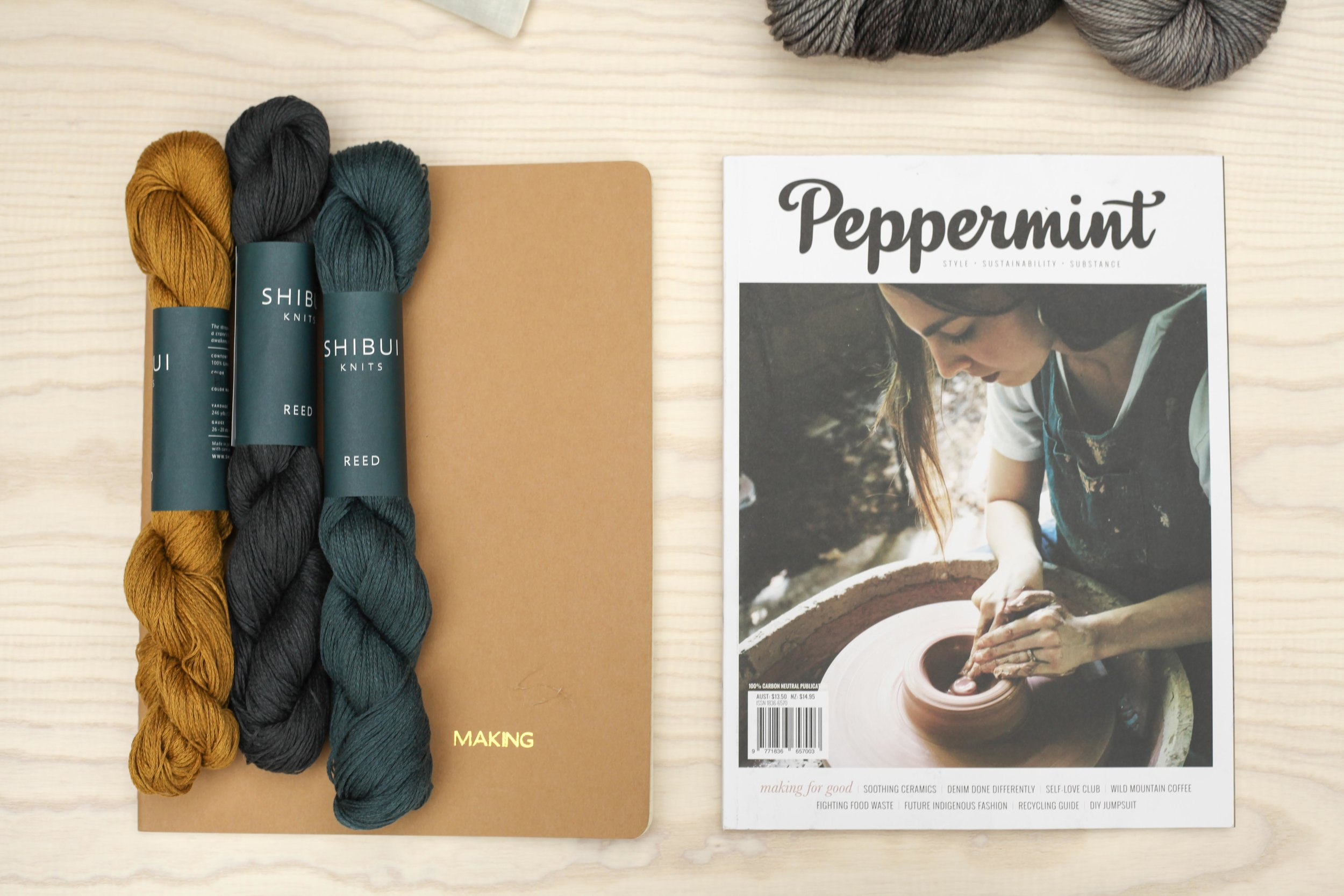 Special edition Moleskins from Notemaker and beautiful mags from Peppermint