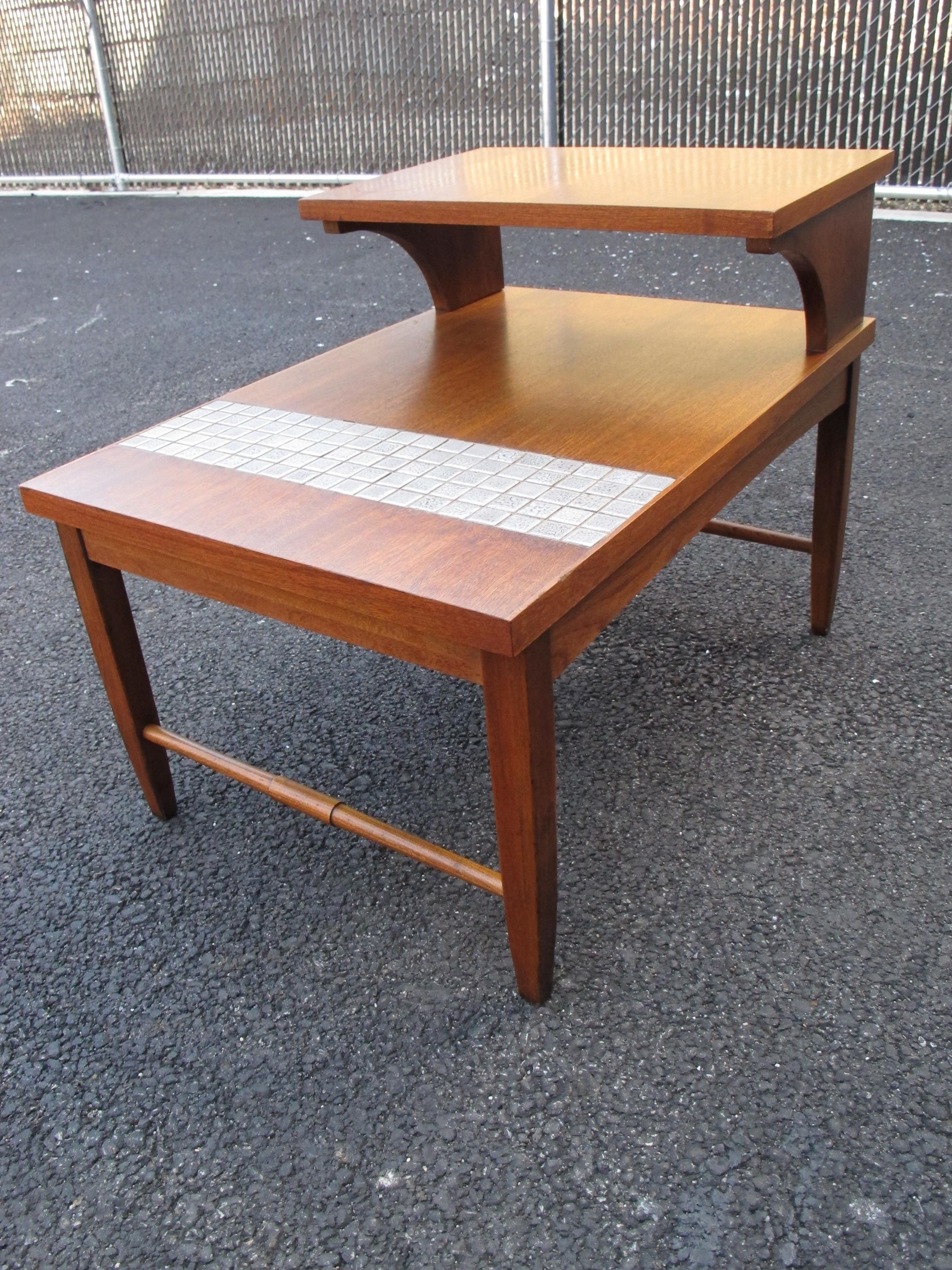 LANE TILED END TABLE