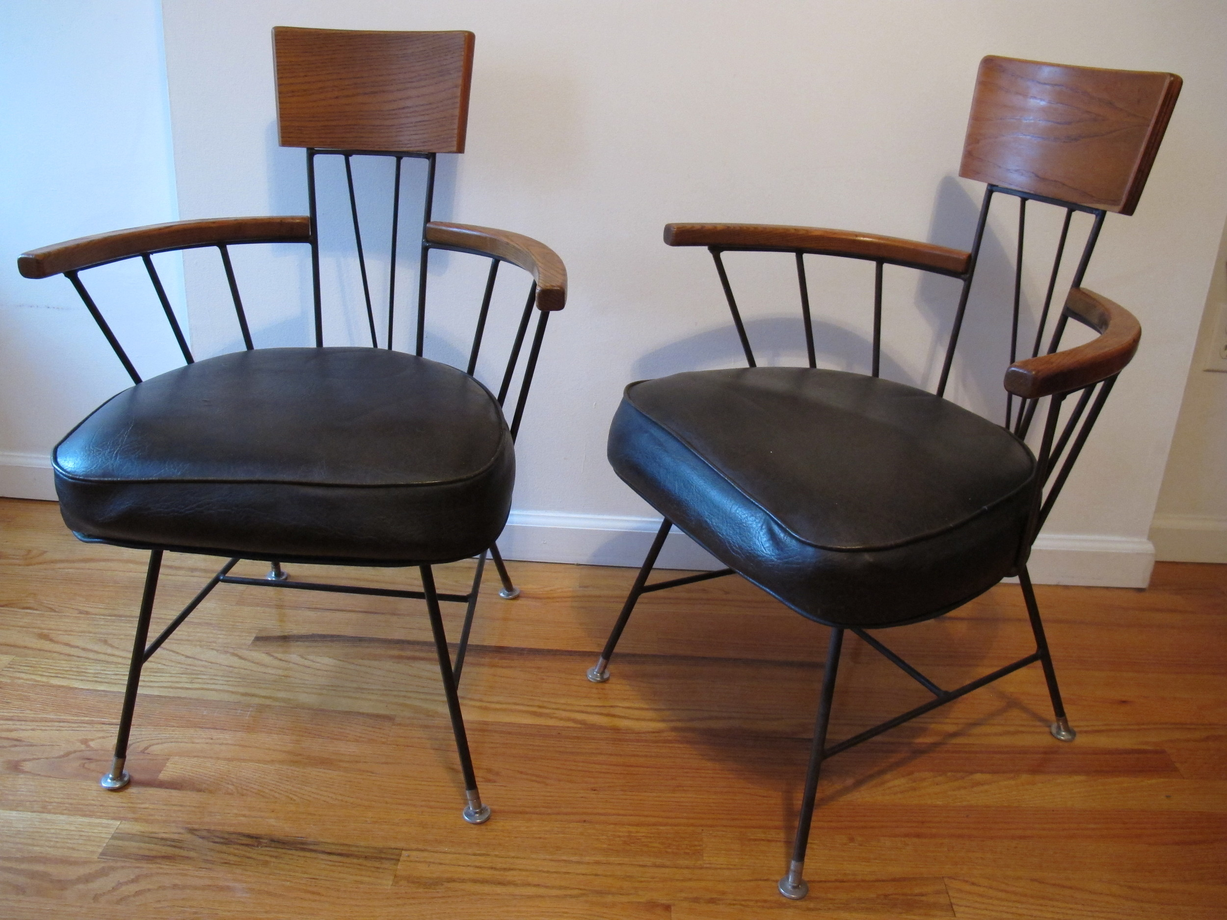 PAUL MCCOBB STYLE SELRITE CHAIRS