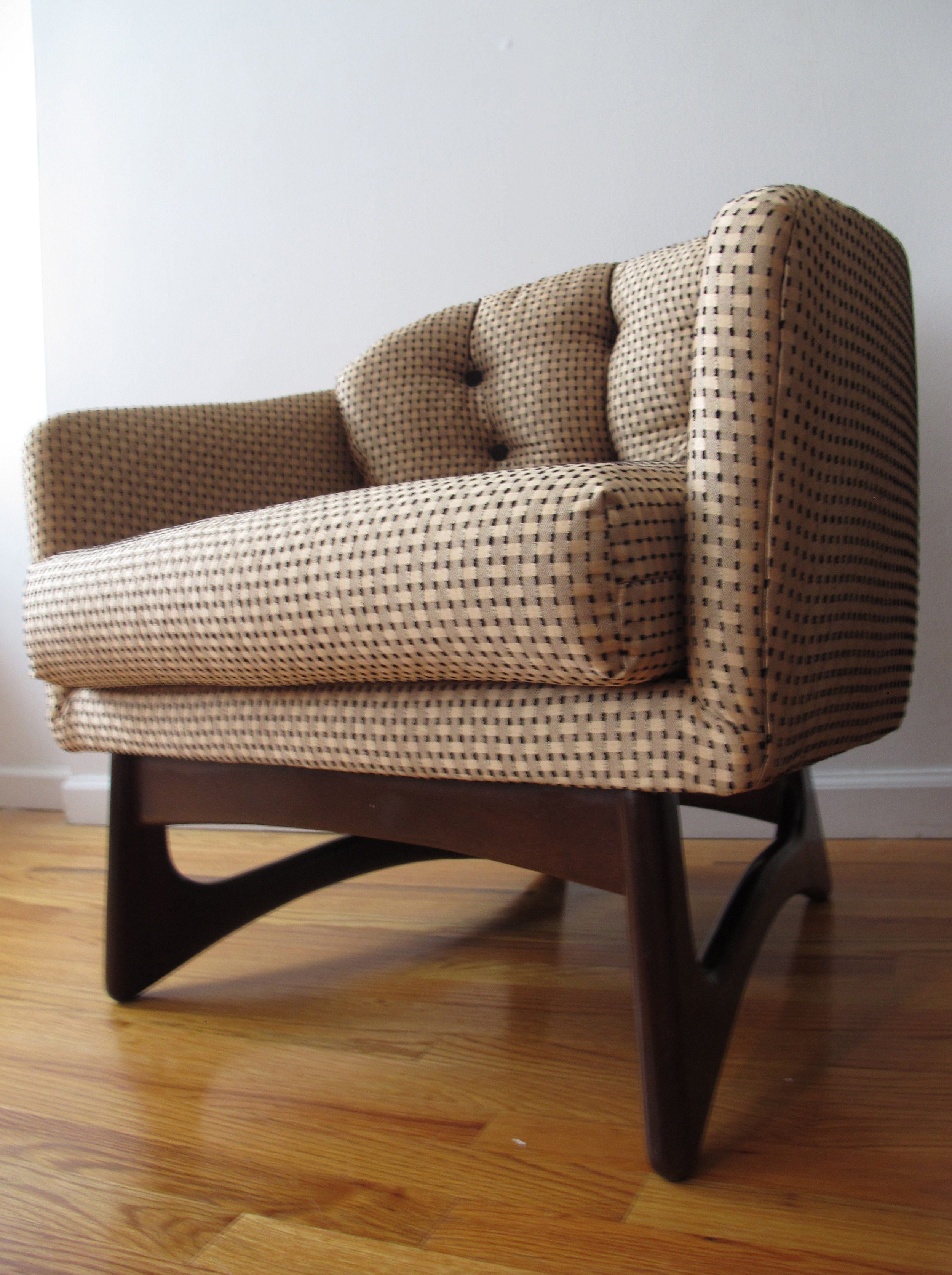 ADRIAN PEARSALL ROUND BACK ARMCHAIR