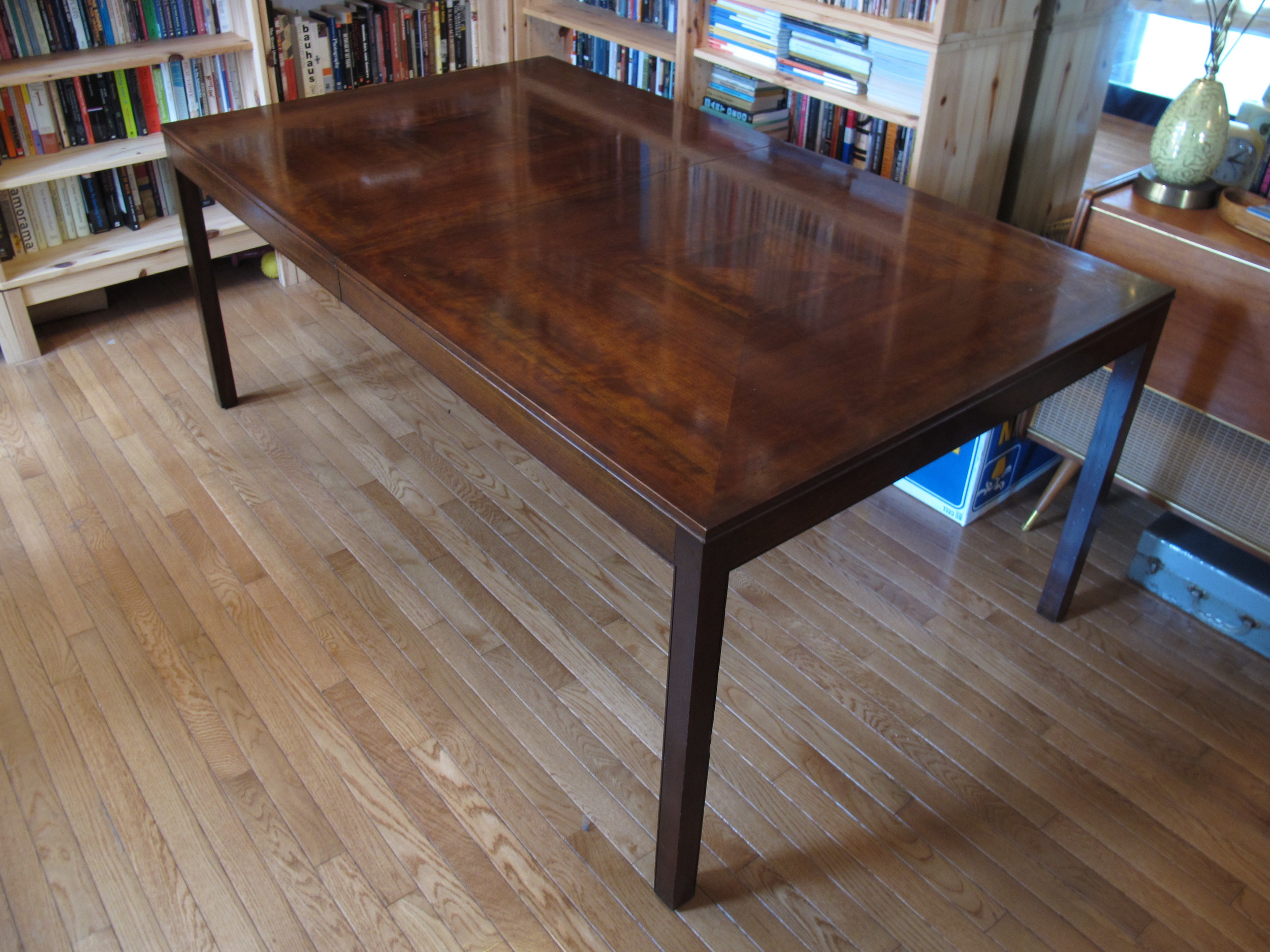 MILO BAUGHMAN DINING TABLE BY JOHNSON FURNITURE