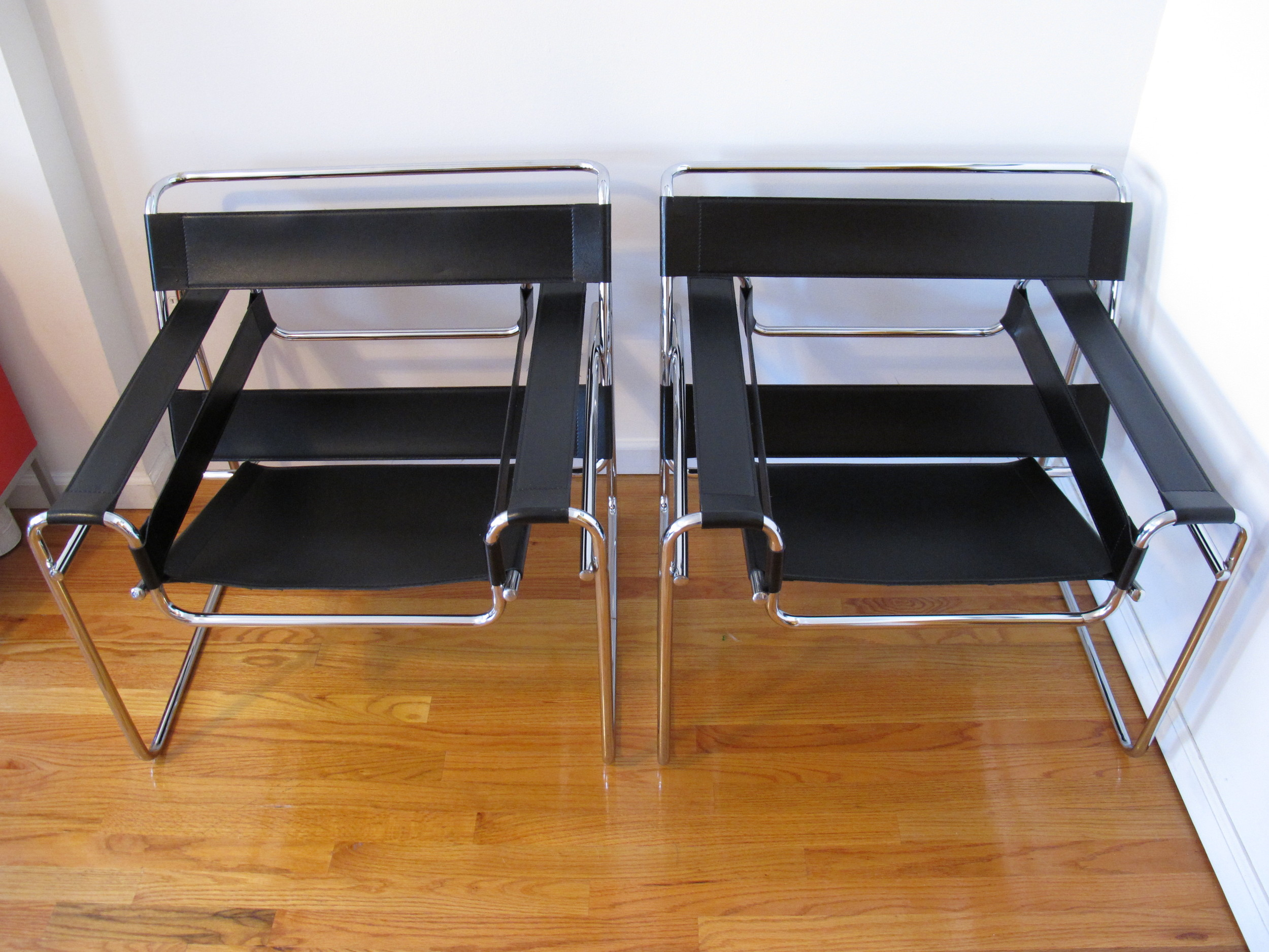 SET OF WASSILY CHAIRS