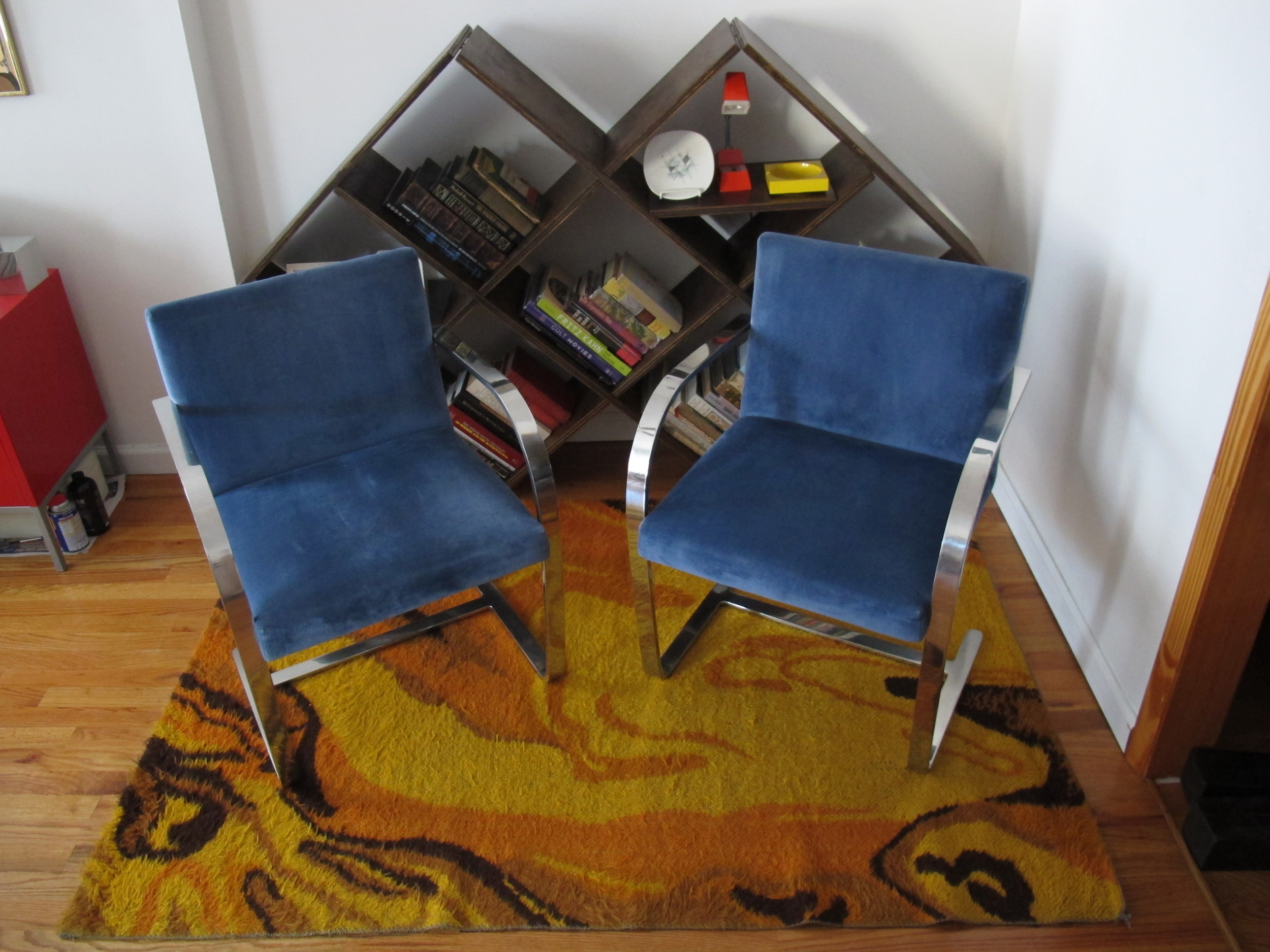 PAIR OF BRNO CHAIRS