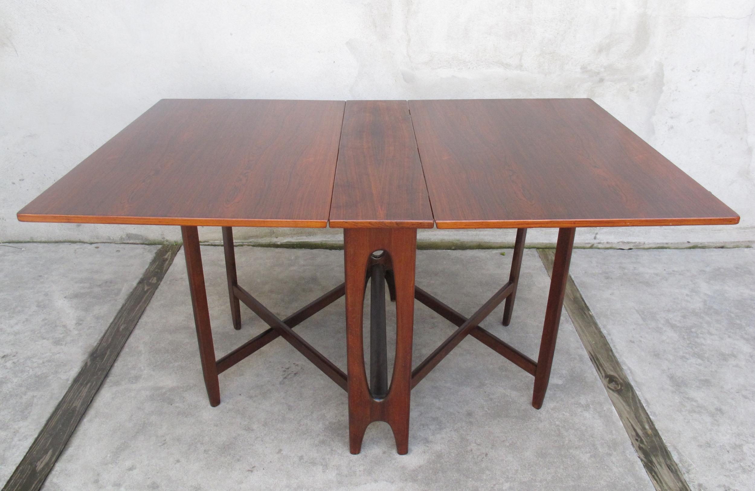 NORWEGIAN DINING TABLE BY BENDT WINGE FOR KLEPPES