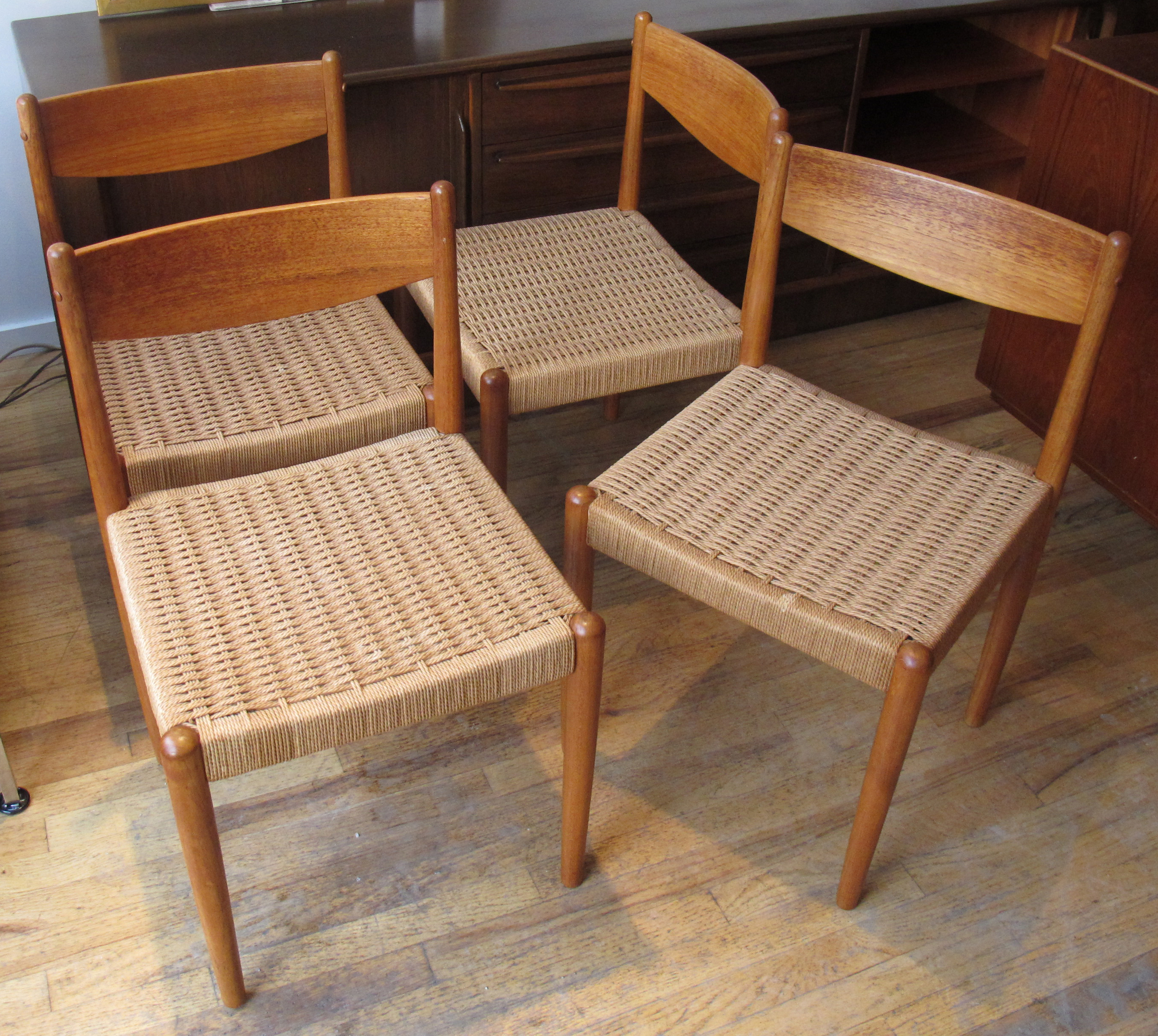 DANISH MODERN ROPE CHAIRS AFTER POUL VOLTHER