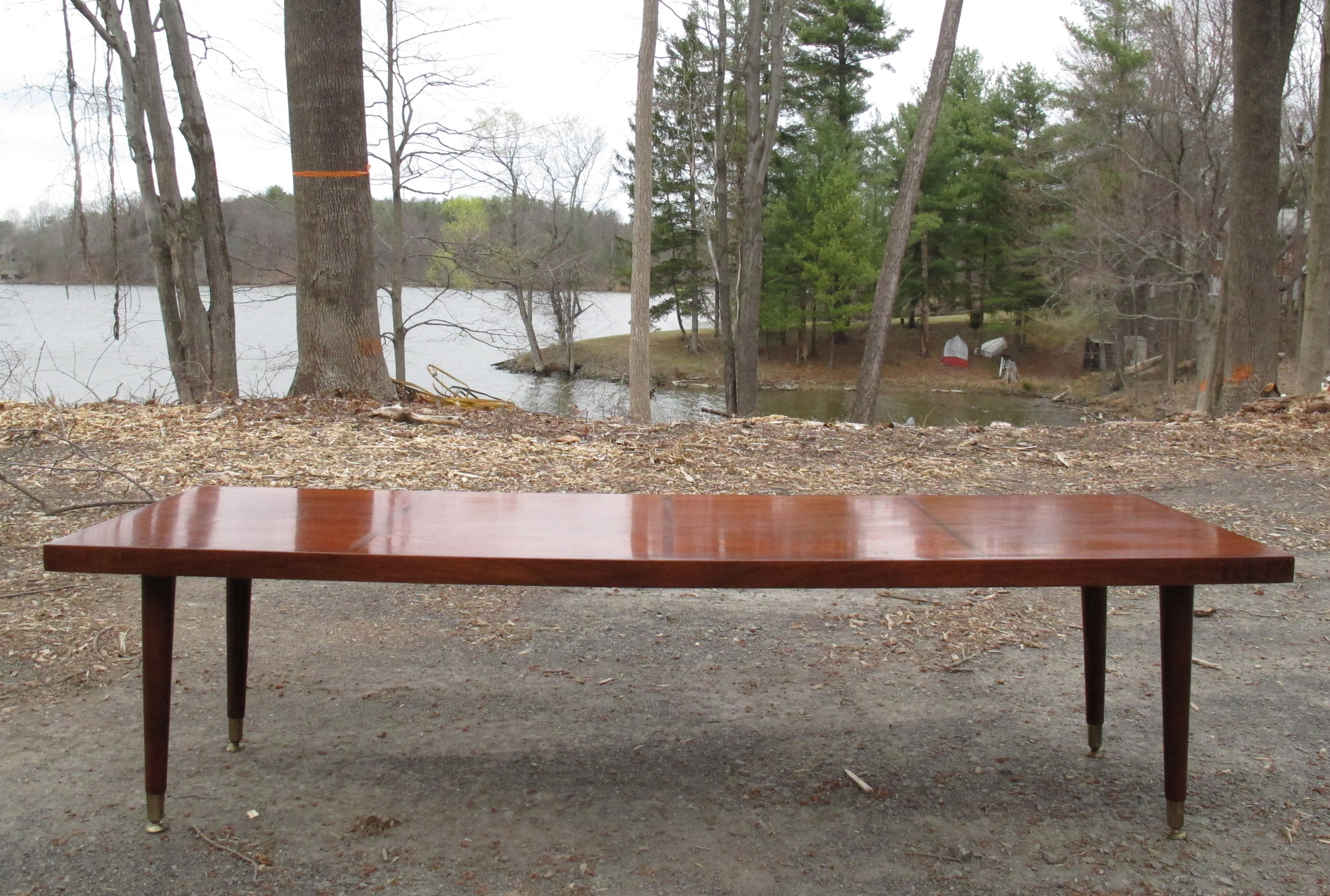 MID CENTURY MODERN RECTANGULAR COFFEE TABLE