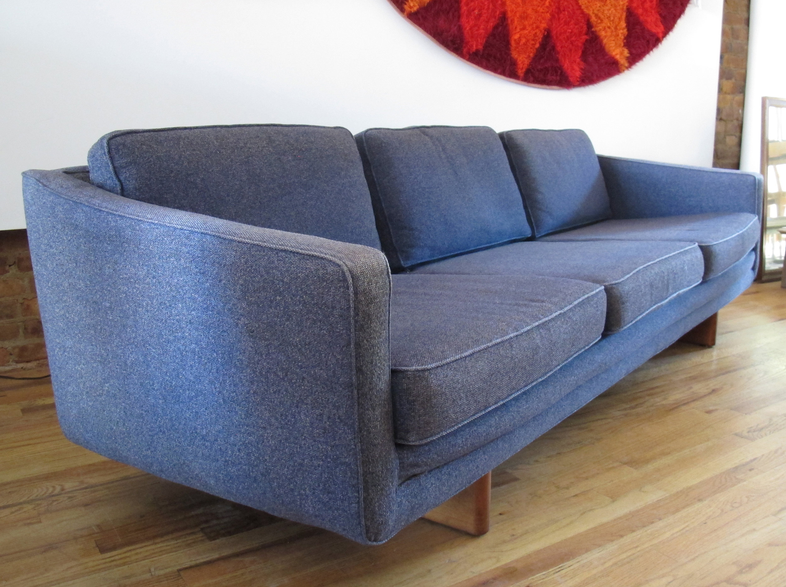 MID CENTURY ADRIAN PEARSALL STYLE SOFA BY ARMSTRONG
