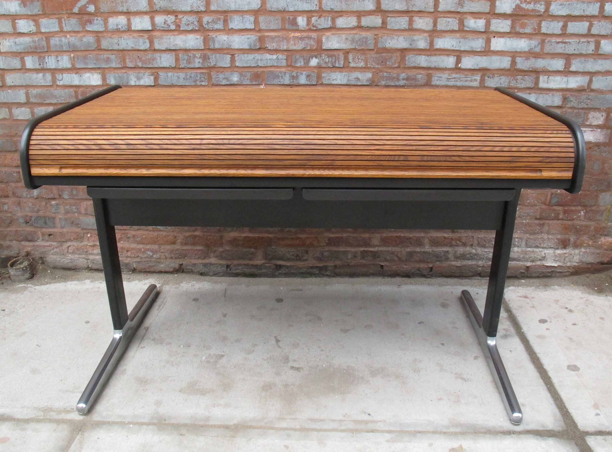 GEORGE NELSON ACTION ROLL TOP DESK FOR HERMAN MILLER