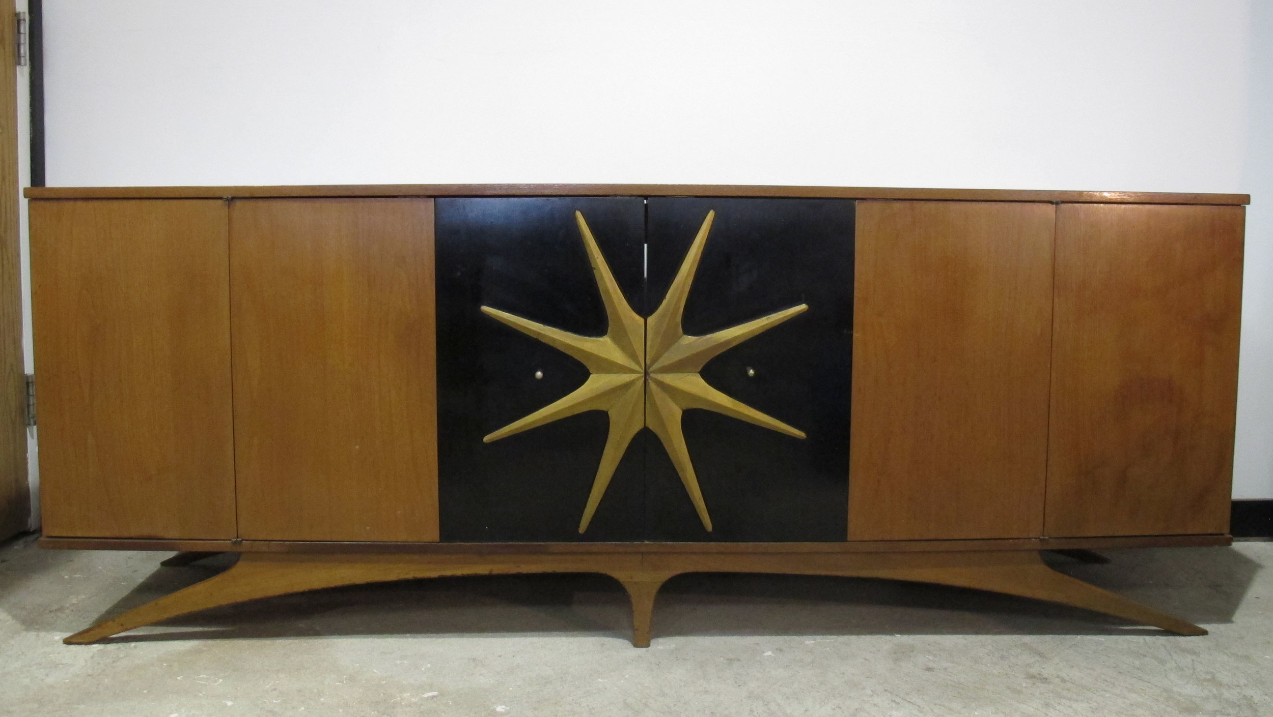 KAGAN STYLE MID CENTURY STEREO CABINET