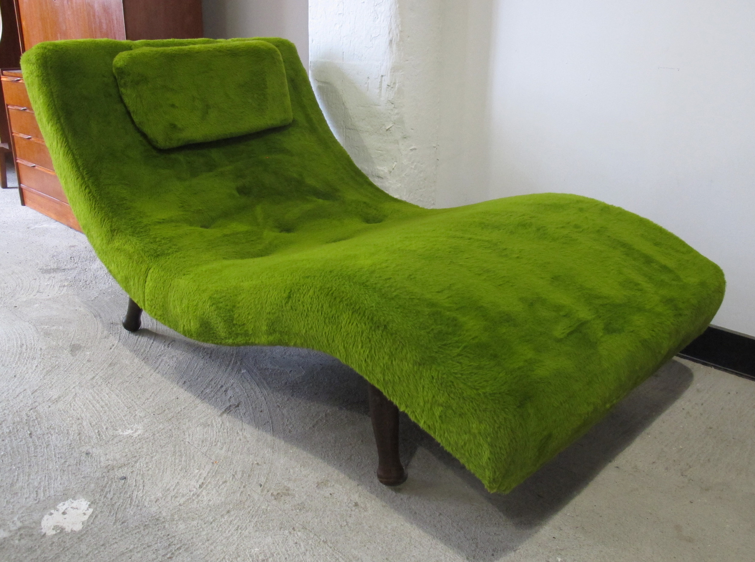 ADRIAN PEARSALL STYLE WAVE CHAISE LOUNGE CHAIR