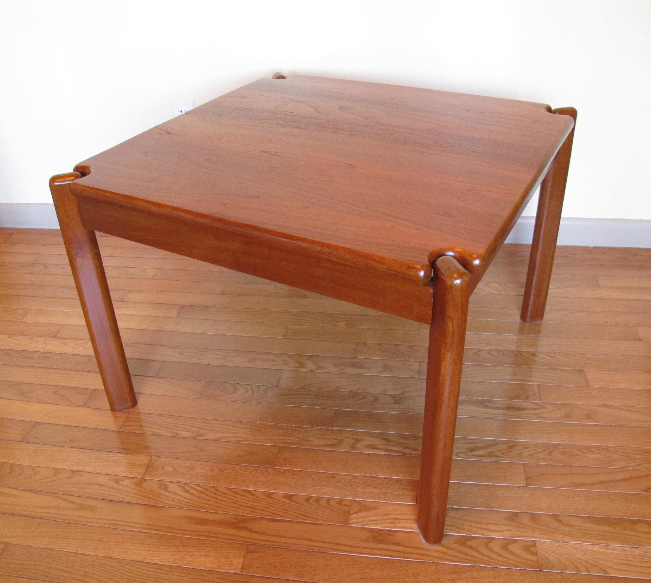 DANISH MODERN TEAK SIDE TABLE BY TARM STOLE
